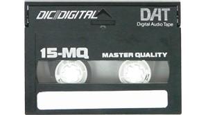 Digitalizace audiokazet DAT