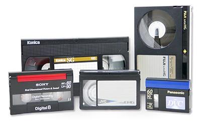 Digitalizace VHS, Hi8, MiniDV - Praha