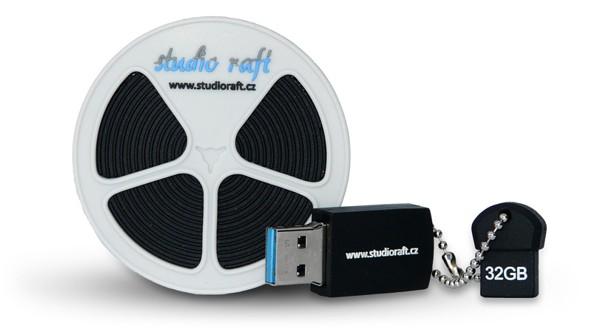 Digitalizace 8mm filmů na USB flash disk - Praha